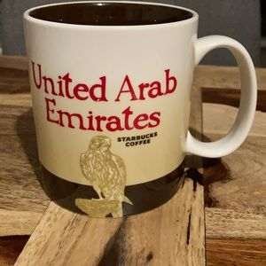 United Arab Emirates Starbucks collectors mug